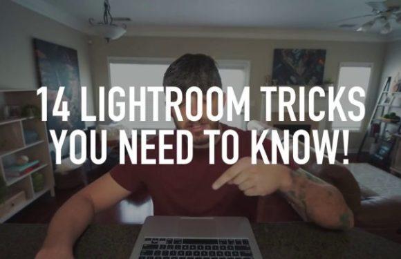 """14 полезных """"фишек"""" Lightroom"""