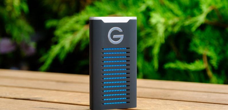 Обзор ударопрочного SSD-накопителя G-DRIVE mobile R-Series от G-Technology