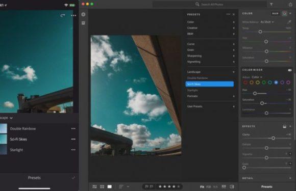 Обновление Lightroom добавило синхронизацию профилей и пресетов