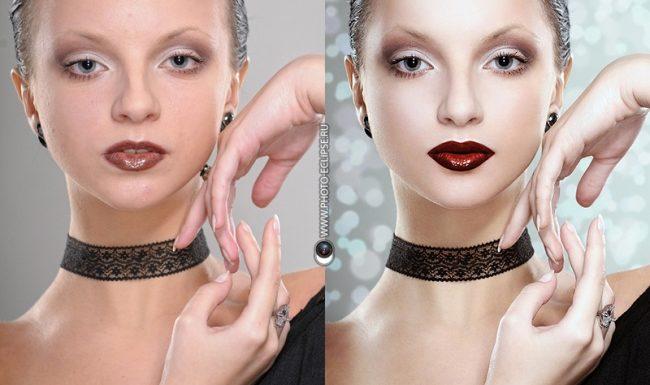 Photoshop. Алгоритм портретной ретуши