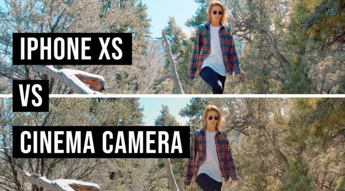 Камера iPhone XS vs кинокамера: сможете отличить?