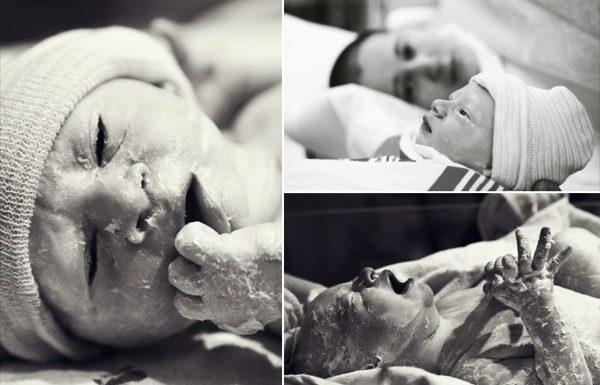 Фото в роддоме. Как «снимать» роды и новорожденных