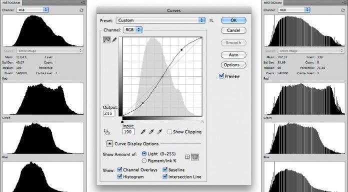 Как работают кривые Curves