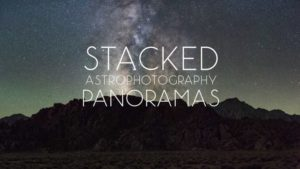 Руководство по созданию панорам звездного неба