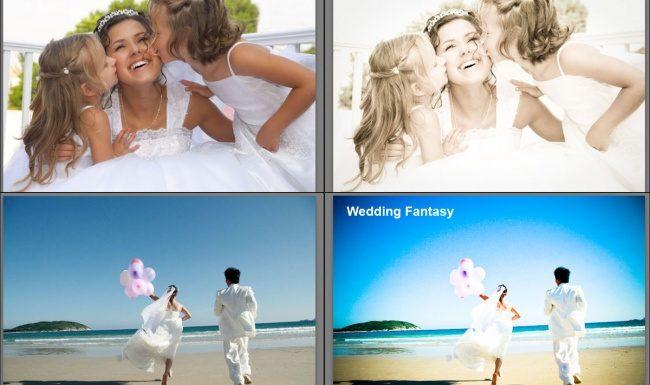 Пресеты для Lightroom — Fairytale Glow, Wedding Fantasy