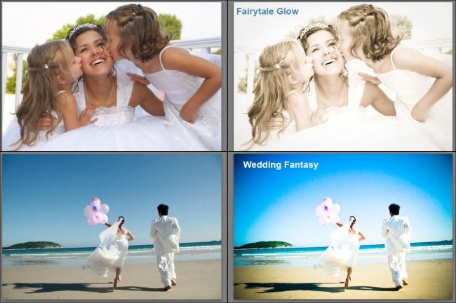 Пресеты для Lightroom - Fairytale Glow, Wedding Fantasy